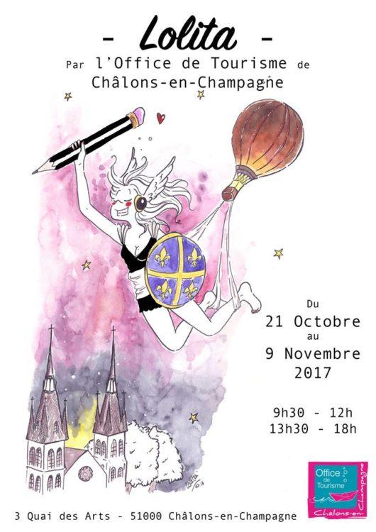 Retrouvez lolita l 39 office de tourisme de ch lons - Office du tourisme de chalons en champagne ...